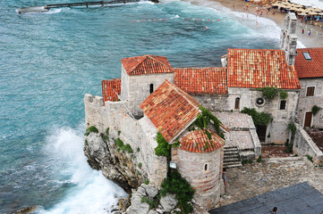 The citadel of Budva