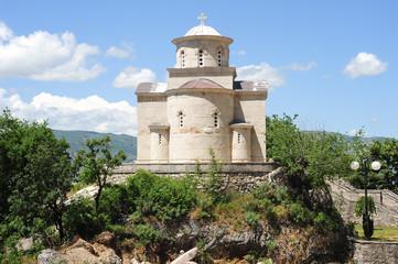 The church of the Holy Trinity near Ostrof monastery