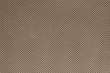 rough texture of wattled fabric brown color