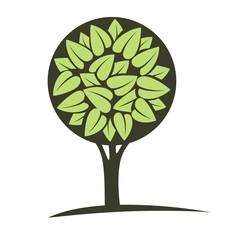 Векторное изображение дерева
