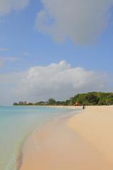 Beach in tropics. Brandons, Bridgetown, Barbados