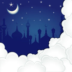 Eid Mubarak ( Blessing for Eid) background