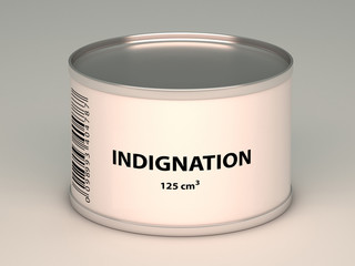 bank with  indignation title