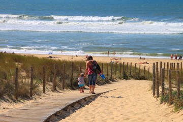 Plage du Grand-Crohot, Gironde