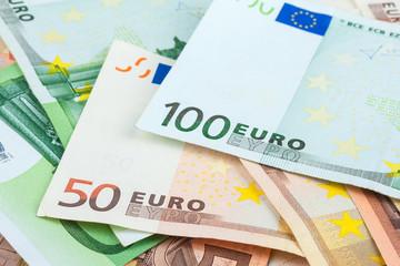 Euro closeup