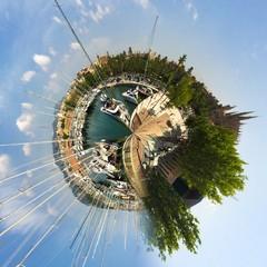 Mallorca Hafen - Little Planet