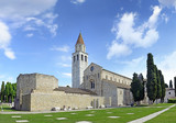 Baptistery, Basilica and bell tower of Aquileia, Italy. UNESCO