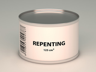 bank with   repenting title