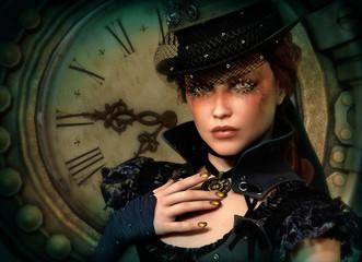 Time's up, 3d CG