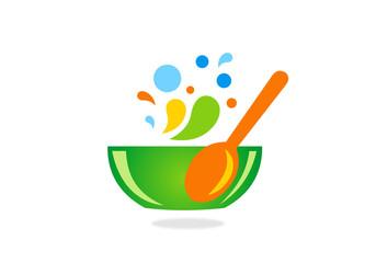 bowl recipe-vector-logo
