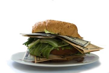 Cash sandwich