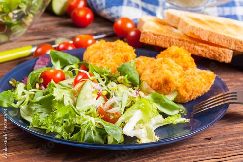 Fotobehang Restaurant Lunch