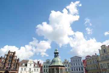 Fassaden am Markt in Wismar 5