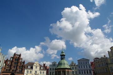 Fassaden am Markt in Wismar 0