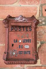 Ancienne boîte aux lettres