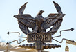 SPQR eagle scepter - 67385724
