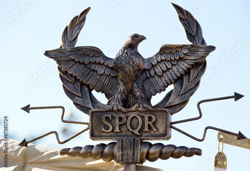 SPQR eagle scepter - 67385724