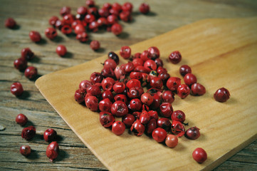 pink peppercorns