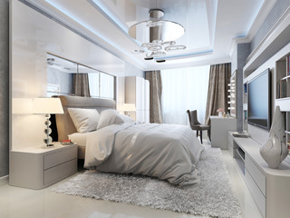 luxury bedroom interior