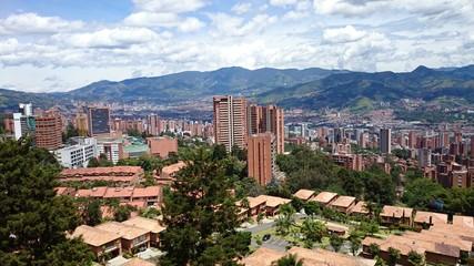 Panorámica de Medellin Colombia