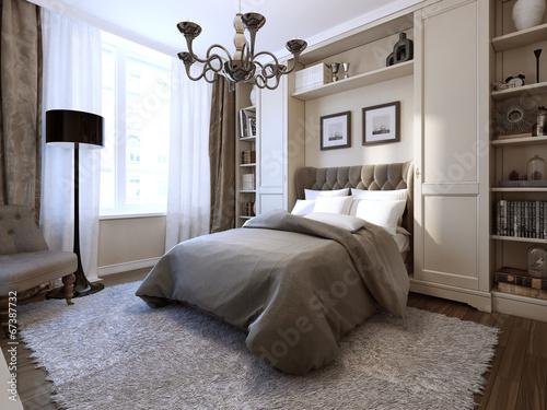 Bedroom in modern style - 67387732