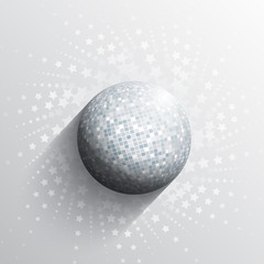 Mirror ball background