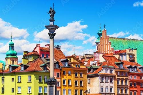 Fototapeta Old Town in Warsaw, Poland