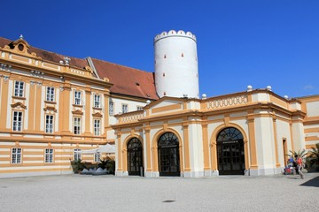 Melk Abbey court