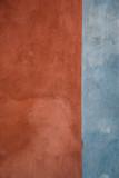 Wand rot / blau