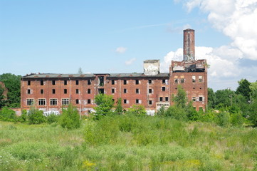 Alte verfallene Fabrik in Wismar 5
