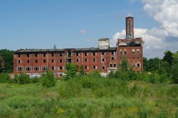 Alte verfallene Fabrik in Wismar 3