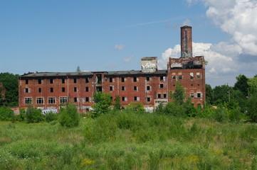 Alte verfallene Fabrik in Wismar 2
