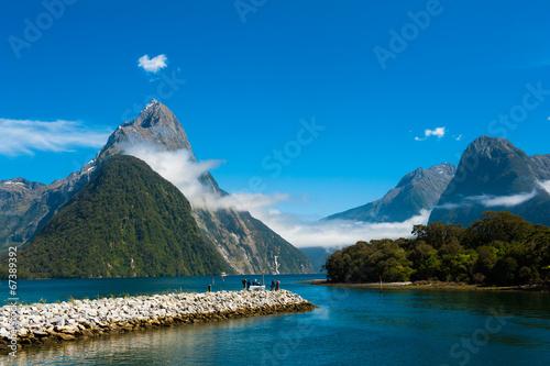Poster Nieuw Zeeland Milford Sound