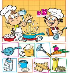 Kids cook