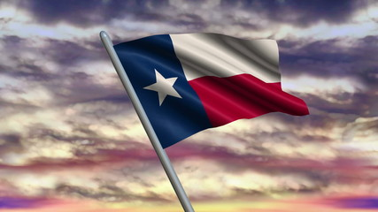 Texas Flag Animation