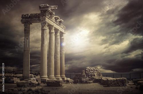 Papiers peints Con. ancienne Apollon Temple @Antalya