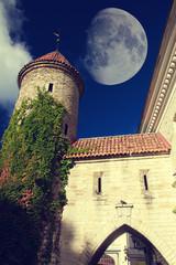 Tallinn towers fall