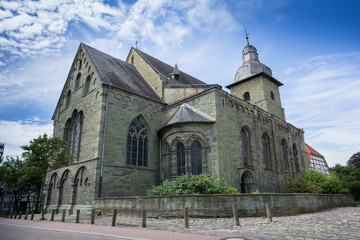 st maria zur hoehe church in soest germany
