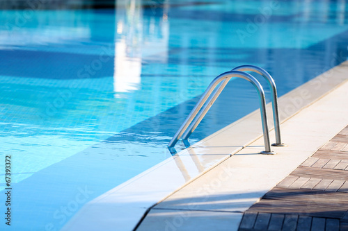 canvas print picture Hotel swimming pool