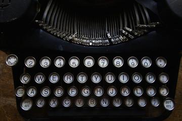Old Typewriter Keys