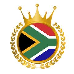 南アフリカ 国旗 メダル