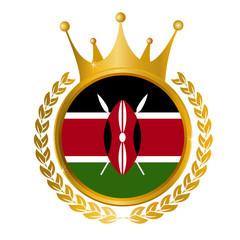 ケニア 国旗 メダル