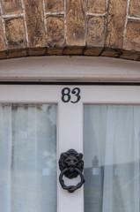 Door number 83 background