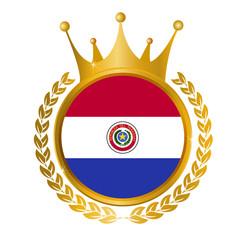 パラグアイ 国旗 メダル