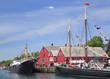 Lunenburg waterfront, Nova Scotia, Canada