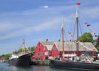 Lunenburg waterfront, Nova Scotia, Canada