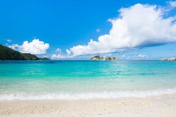沖縄の海・阿波連ビーチ