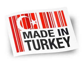 Made in Turkey - Fabriqué en Turquie
