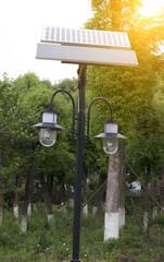 small size solar streetlamp