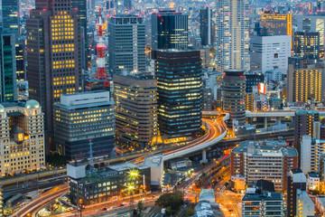 Osaka Skyline Kansai , Japan © orpheus26